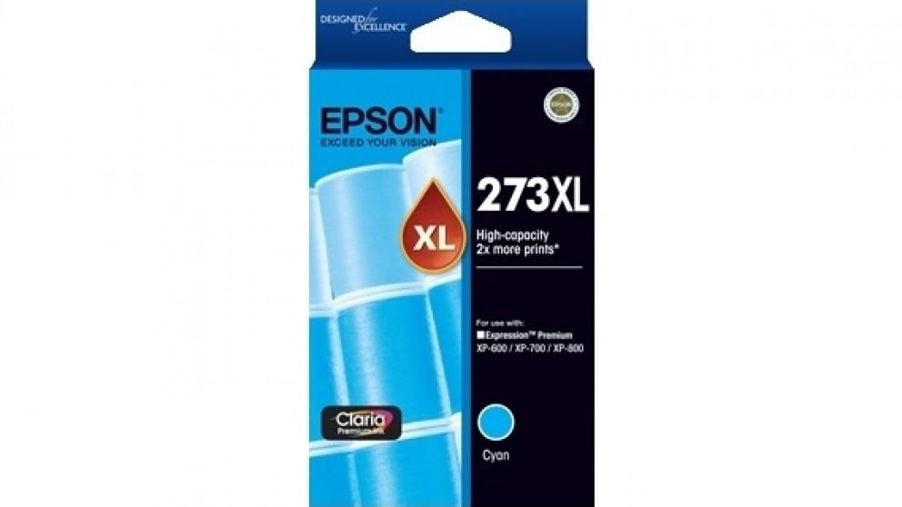 Epson 273XL High Capacity Claria Premium Photo Ink Cartridge - Cyan