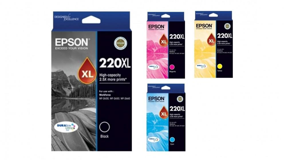 Epson 220XL DURABrite Ultra High Capacity Ink Cartridge