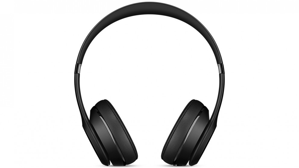 buy beats solo3 wireless on ear headphone black harvey norman au. Black Bedroom Furniture Sets. Home Design Ideas