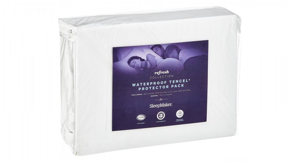 SleepMaker Refresh Tencel Waterproof Mattress Protector