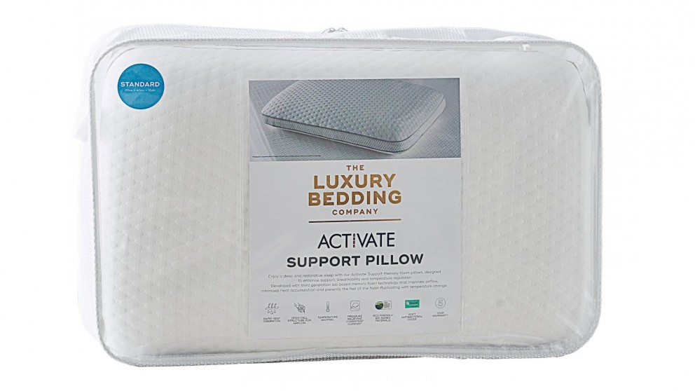The Luxury Bedding Company Activate Standard Pillow