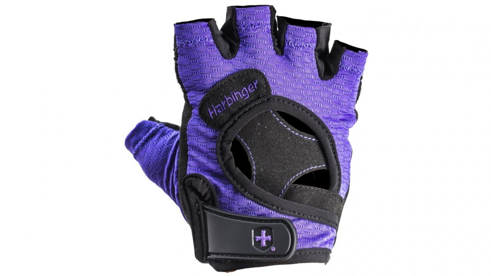 Harbinger Medium Women's Flexfit Gloves - Purple