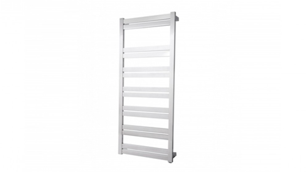 Linsol Siena 14 Bar Stainless Steel Heated Towel Rail