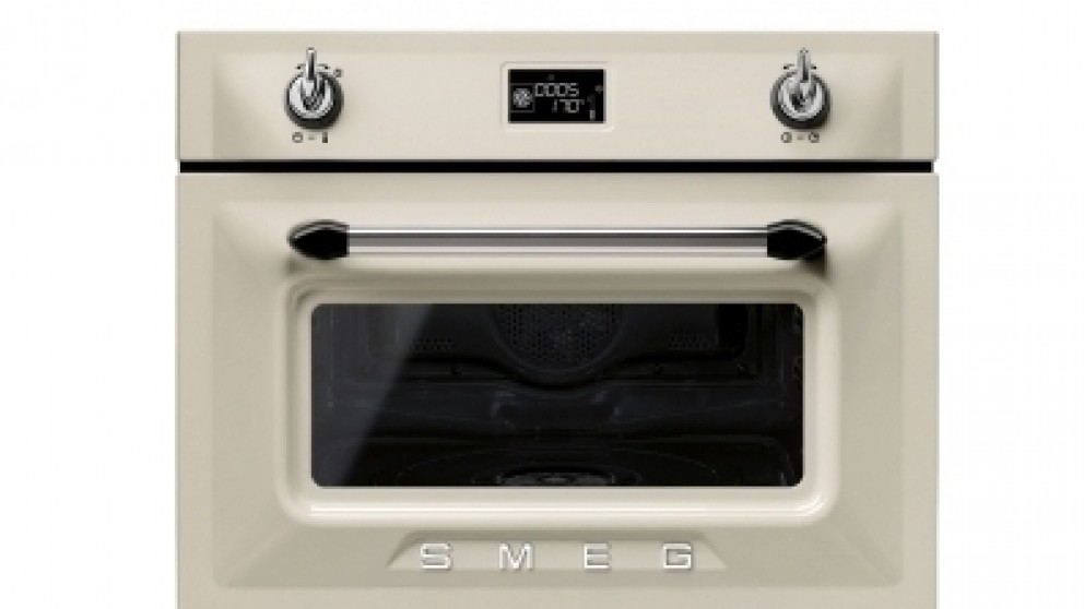 Smeg 600mm Victoria Compact Steam Oven - Panna
