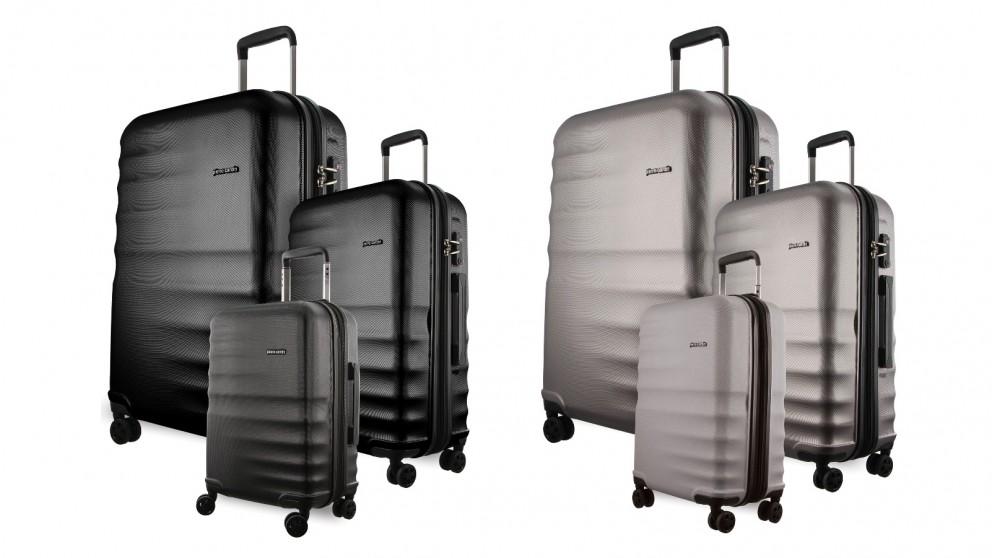 Pierre Cardin Hard Shell 3-Piece Luggage Set