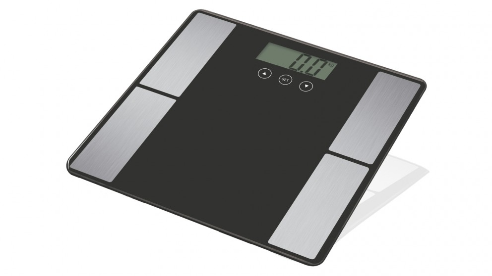Fit Smart Electronic Body Fat Scale - Grey