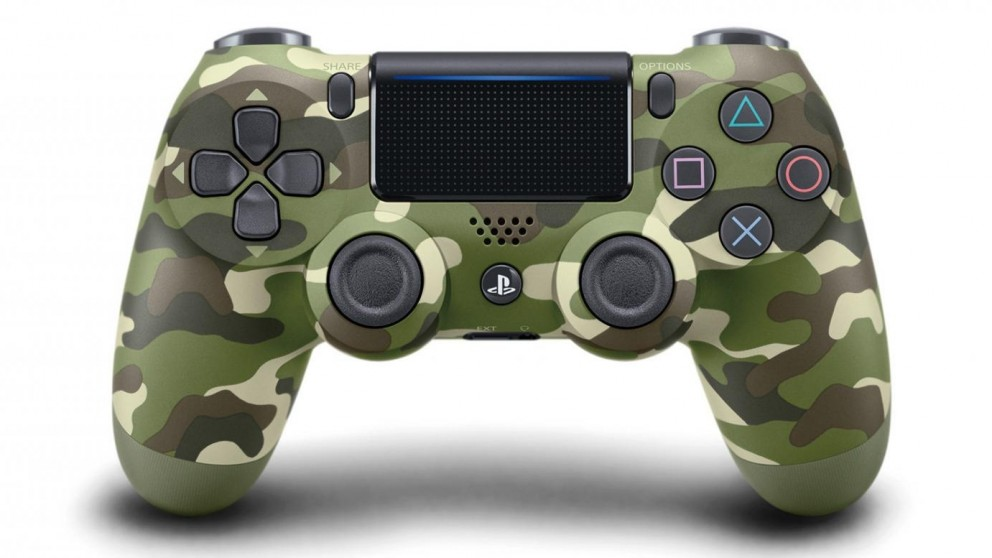 PS4 Dualshock 4 Controller - Green Camouflage