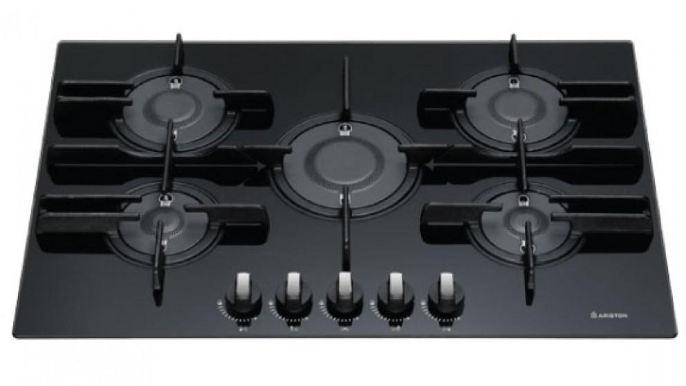 Ariston 75cm 5 Burner Direct Flame Natural Gas Cooktop