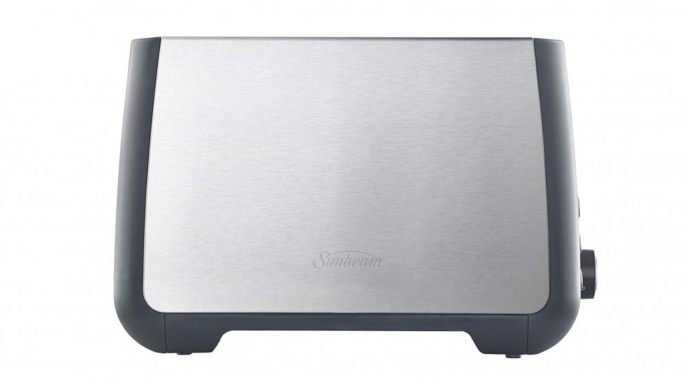 Sunbeam Long Slot 2 Slice Toaster - Stainless Steel