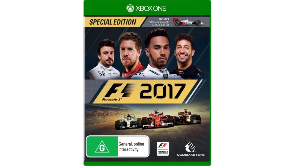 buy f1 2017 special edition xbox one harvey norman au. Black Bedroom Furniture Sets. Home Design Ideas