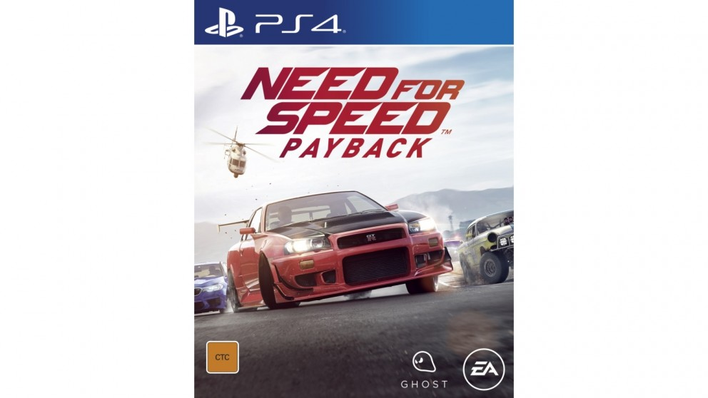 buy need for speed payback ps4 harvey norman au. Black Bedroom Furniture Sets. Home Design Ideas