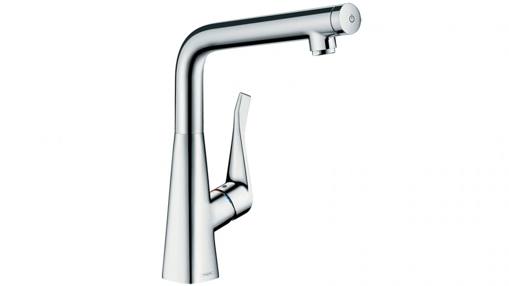 Buy Hansgrohe Metris Select Right Angle Mixer | Harvey Norman AU