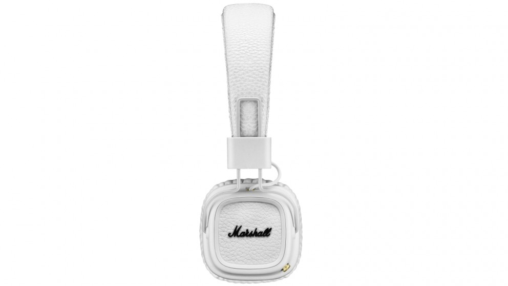 Marshall Major II Wireless On-Ear Headphones - White