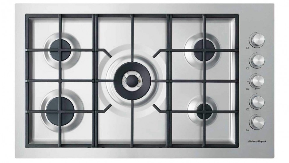 Fisher & Paykel 900mm 5 Burner Flush Natural Gas Cooktop