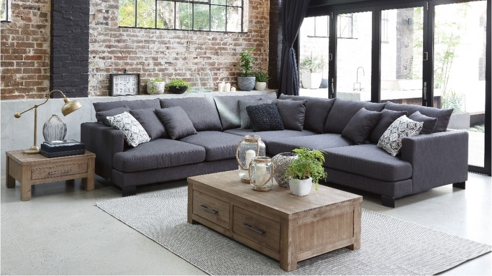 Living room furniture australia hudson 3 seater fabric for Living room furniture australia