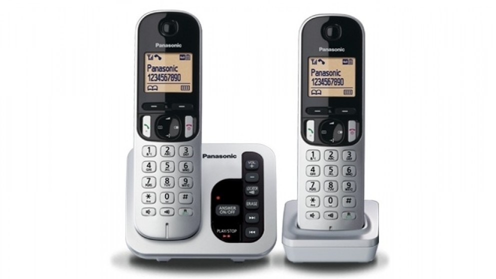 2adc26cce8f Buy Panasonic KX-TGC222ALS Double Handset Cordless Phone