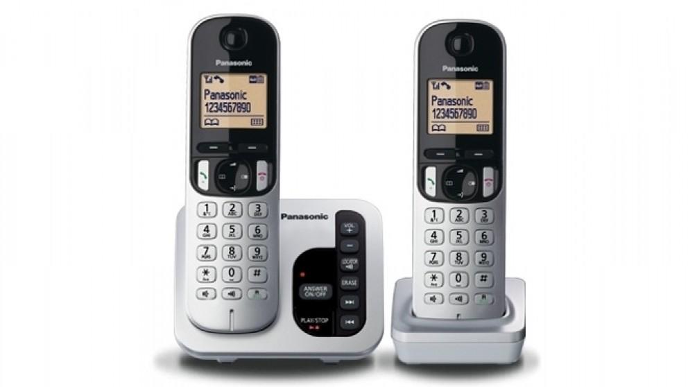 Panasonic KX-TGC222ALS Double Handset Cordless Phone