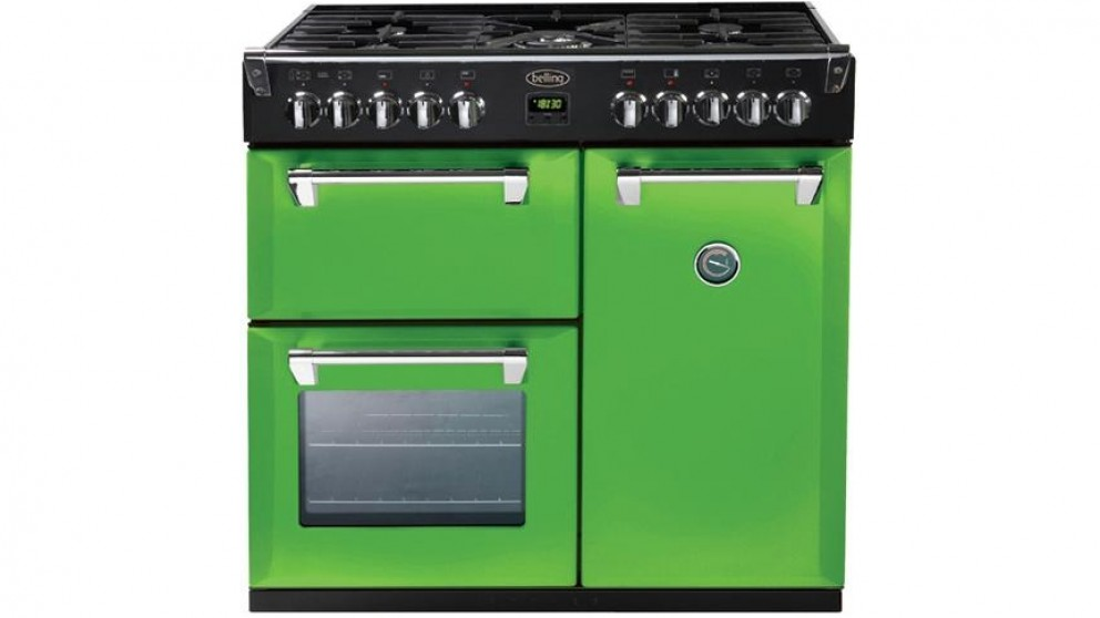 Belling 900mm Richmond Colour Boutique Dual Fuel Range Freestanding Oven - Rolling Countryside