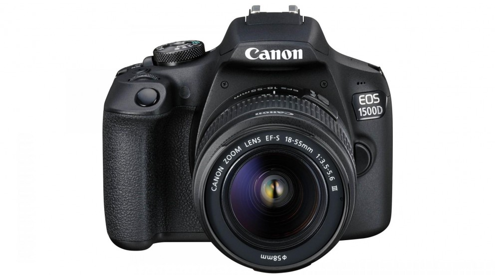 Canon EOS 1500D DSLR Camera with 18-55mm Lens Kit