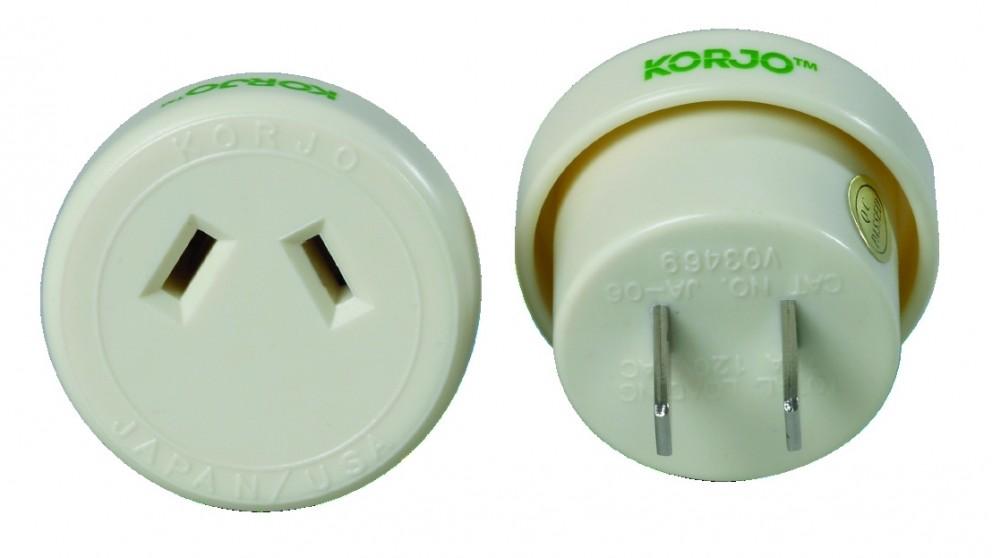 Korjo Travel Adapter for Italy & Switzerland