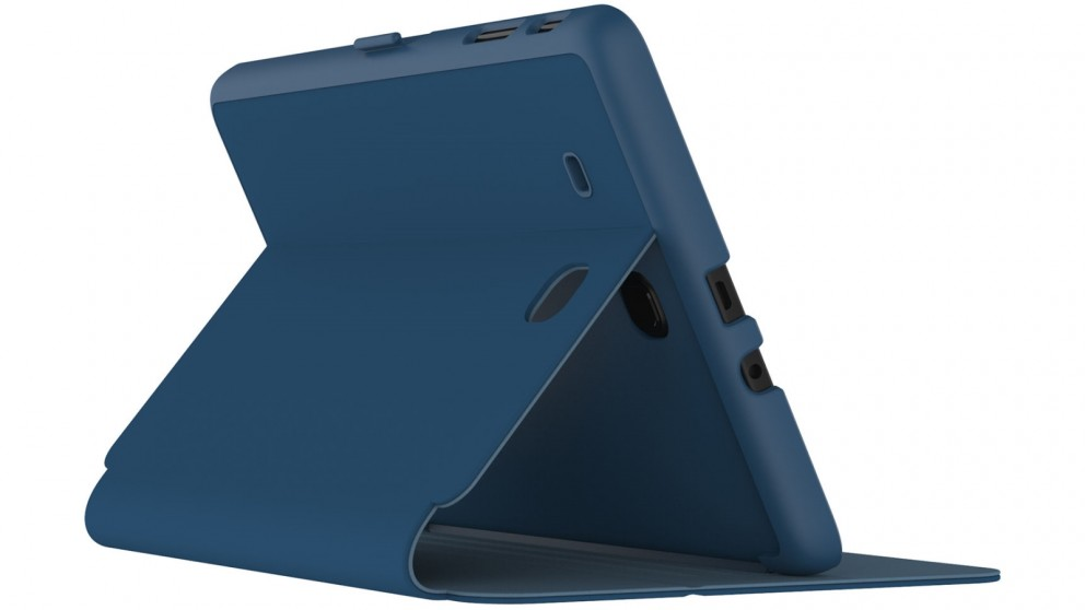 Speck StyleFolio Case for Galaxy Tab E 9.6 - Marine Blue/Twilight Blue