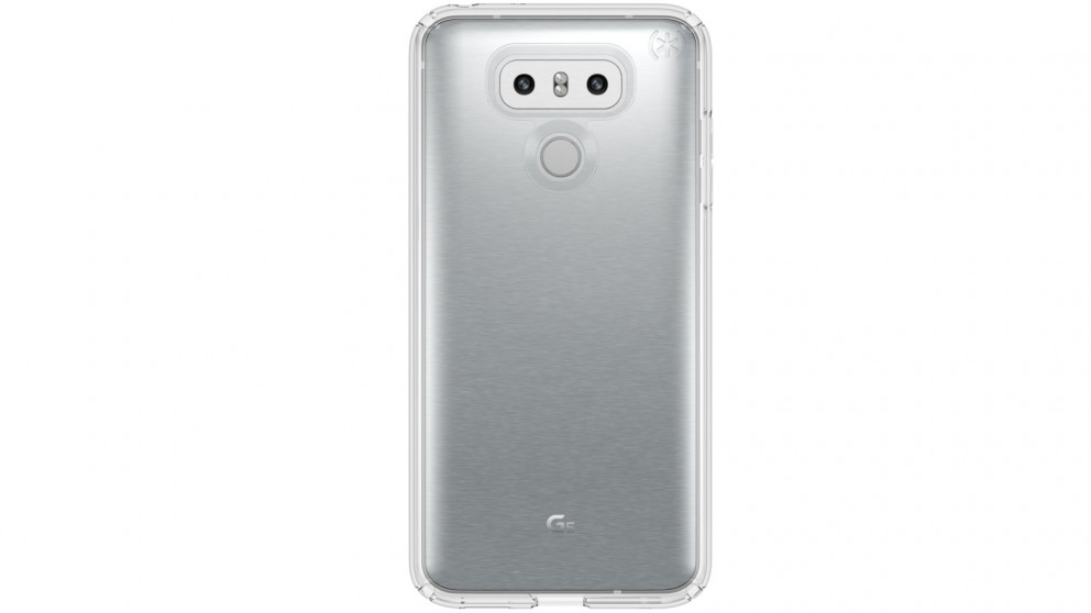 Speck Presidio Clear Case for LG G6 - Clear