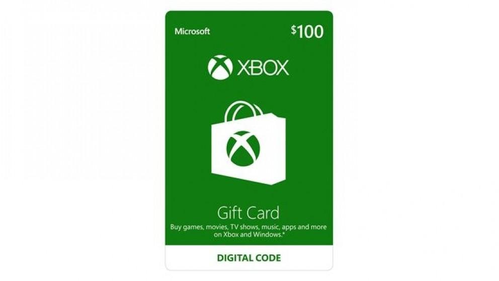 Xbox Live $100 Gift Card