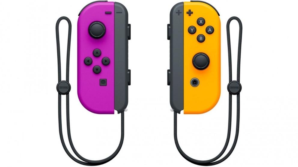 Nintendo Switch Joy-Con Controller Pair - Neon Purple/Neon Orange