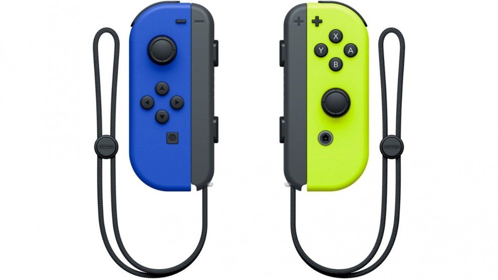 Nintendo Switch Joy-Con Controller Pair - Neon Blue/Neon Yellow