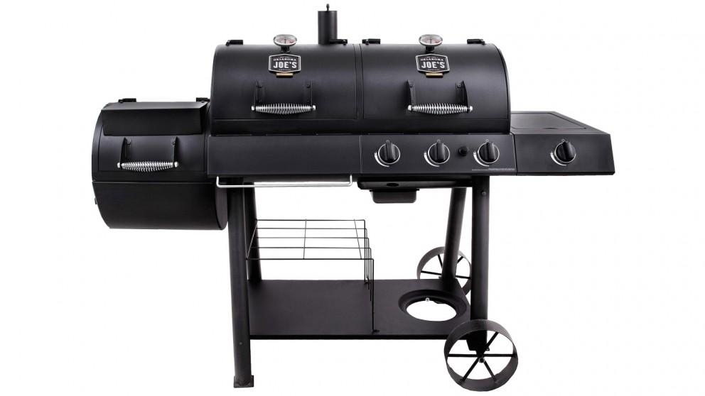 Oklahoma Joe's Combo Charcoal/Gas Smoker