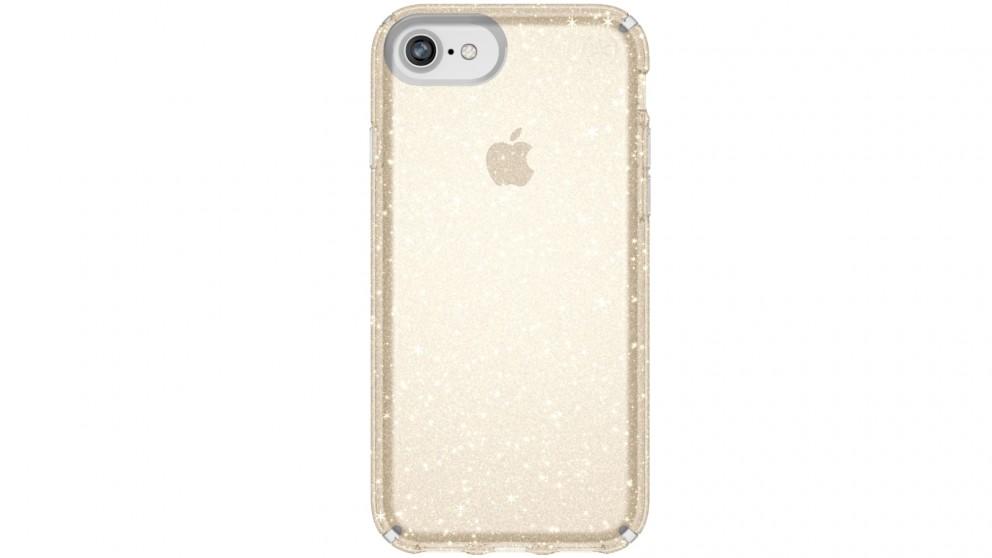 Speck Presidio Clear + Glitter Case for iPhone 8