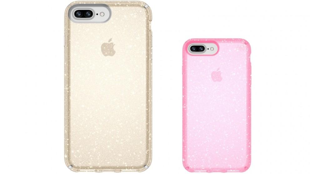 Speck Presidio Clear + Glitter Case for iPhone 8 Plus