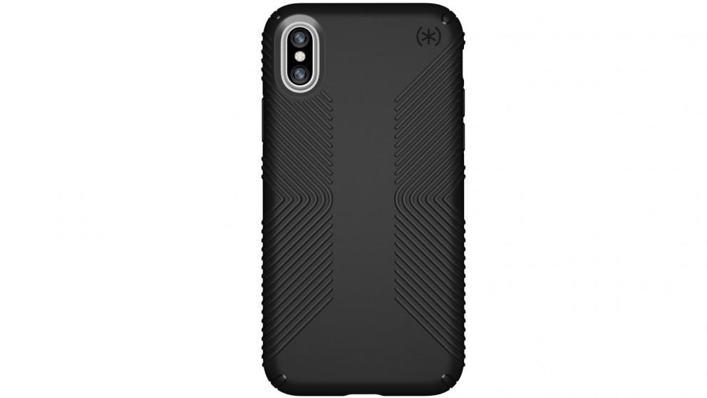 Speck Presidio Grip Case for iPhone X - Black