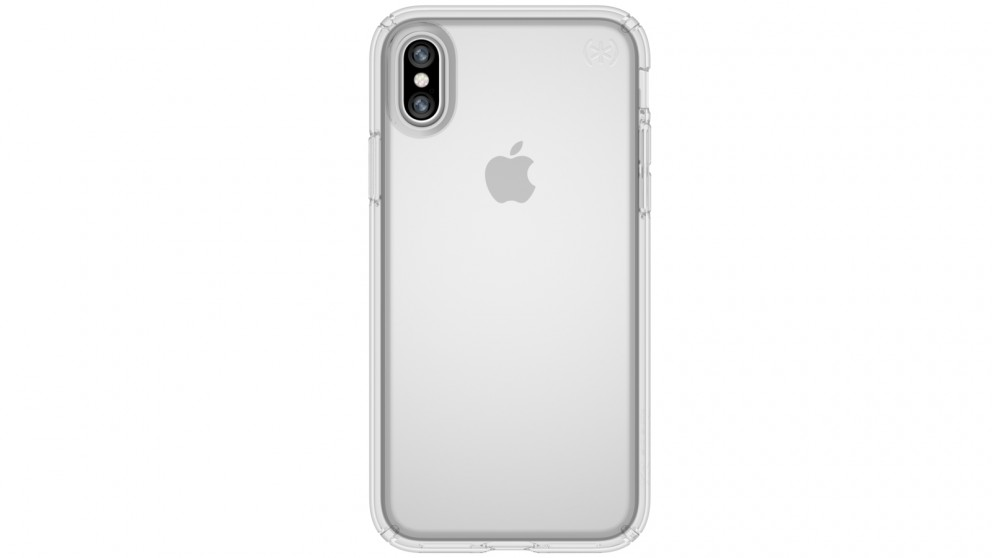 Speck Presidio Clear Case for iPhone X - Clear