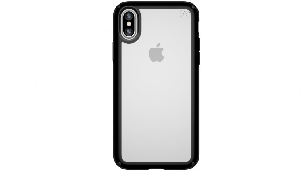 Speck Presidio Show Case for iPhone X -  Clear/Black