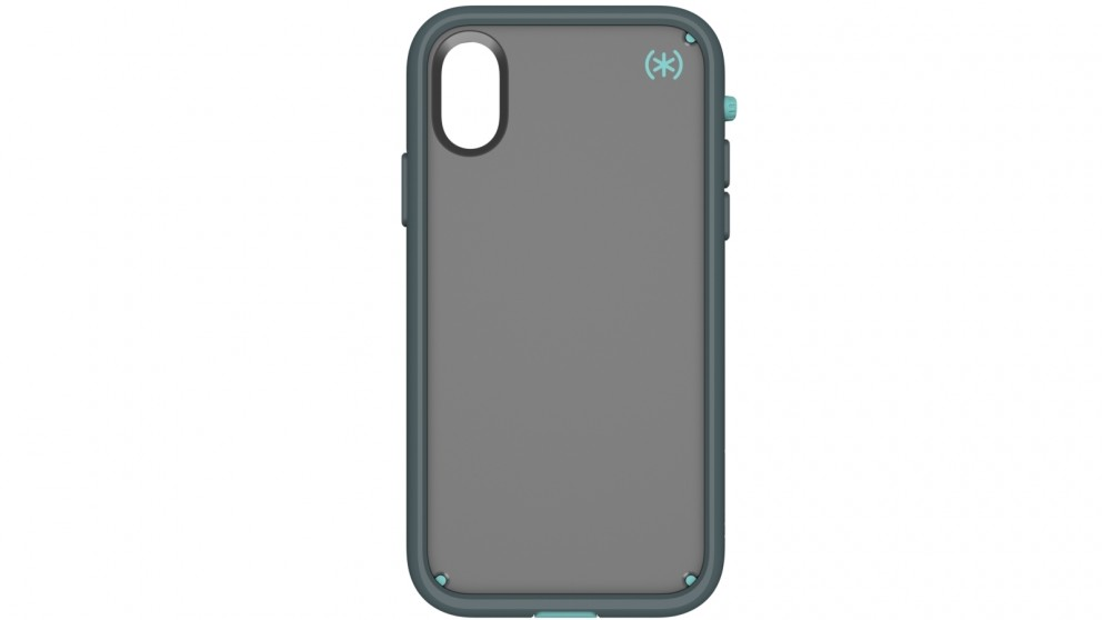 Speck Presidio Ultra Case for iPhone X - Grey/Teal