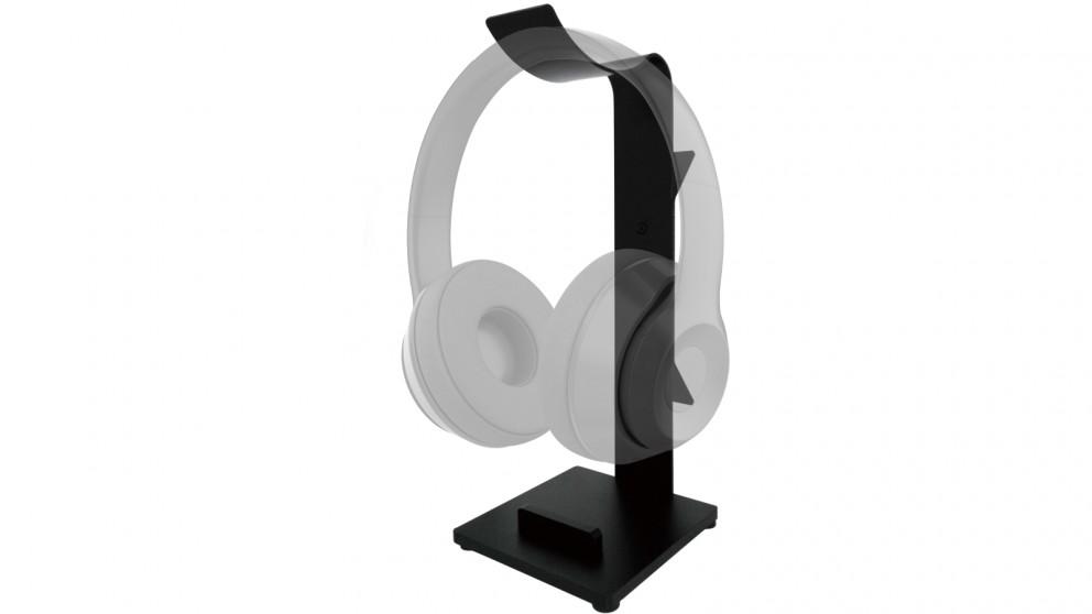 Red1 Aluminium Headphone Stand - Black
