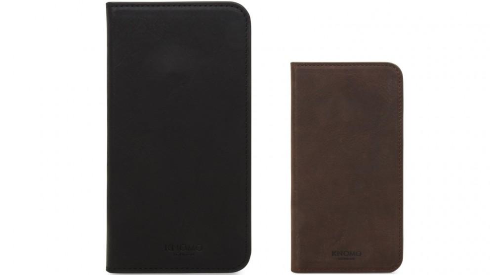 Knomo iPhone X Premium Folio Case