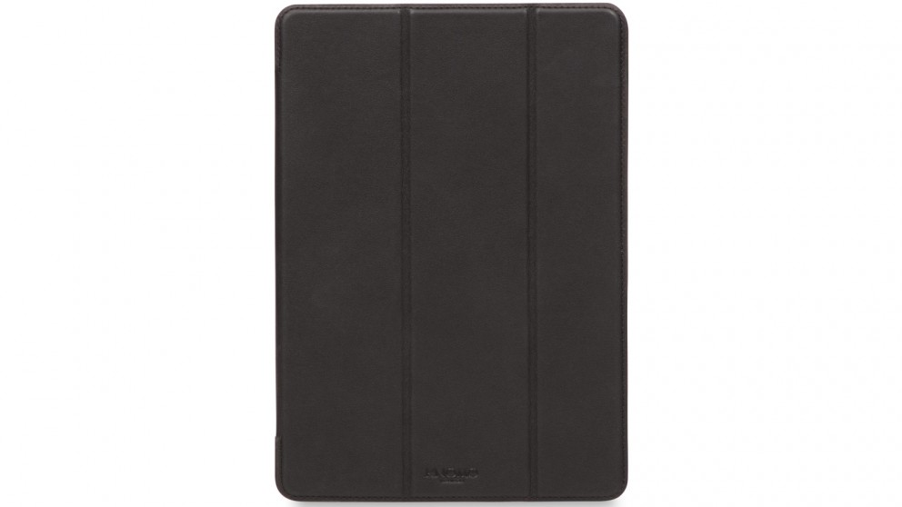 Knomo iPad Pro 9.7 Leather Tri Folio Case - Black