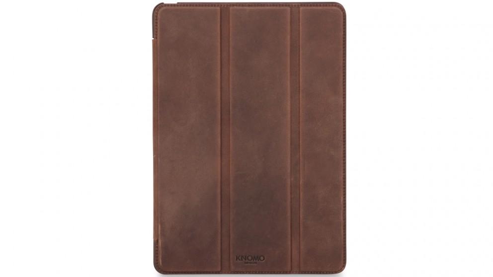 new style 6e9da 45624 Knomo iPad Pro 9.7 Leather Tri Folio Case - Brown