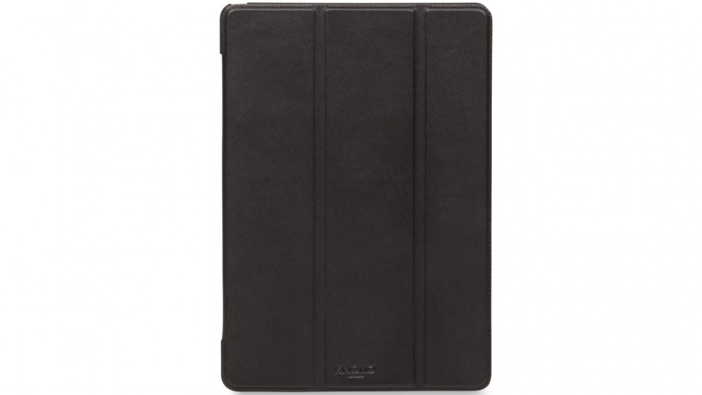 Knomo iPad Pro 10.5 Leather Tri Folio Case - Black