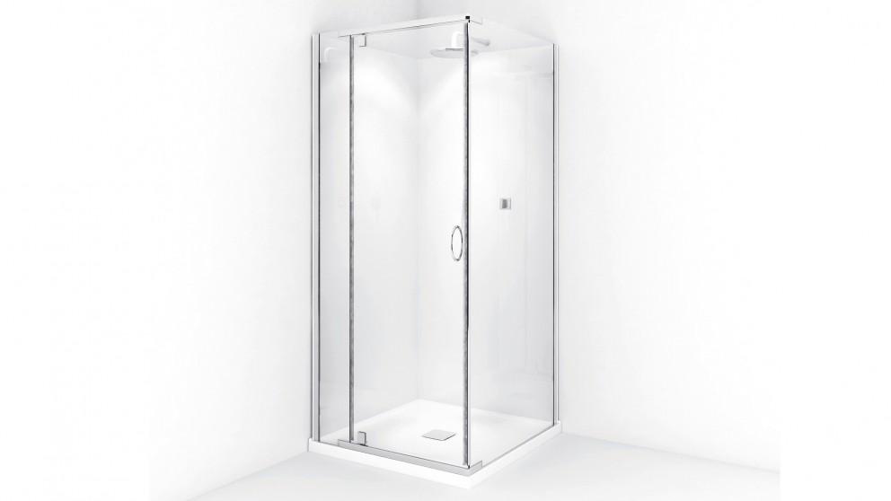 Decina Cascade 1000 White Shower Screen