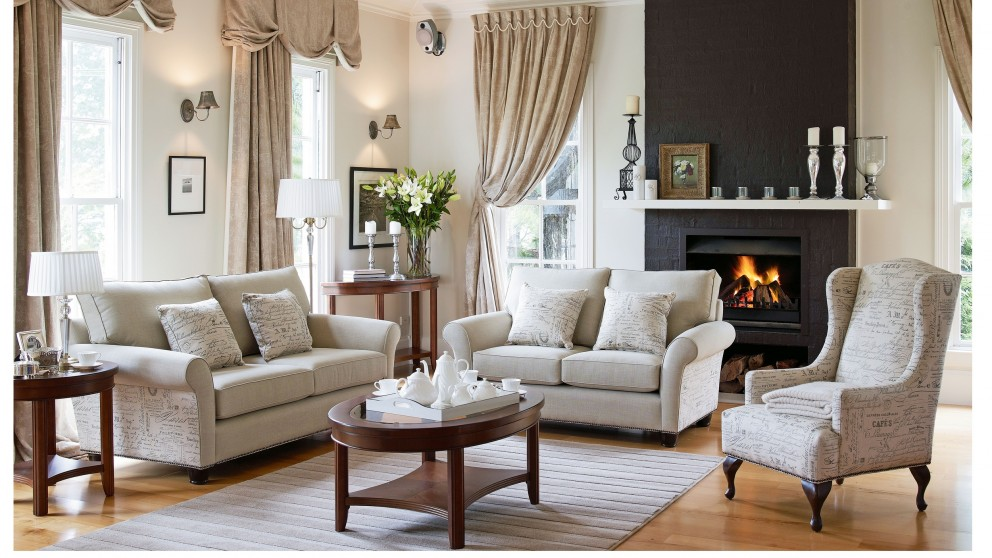 Grayson 25 Seater Fabric Sofa. Lounges Suites   Sofas   Leather  Chaise   Modular   Harvey Norman