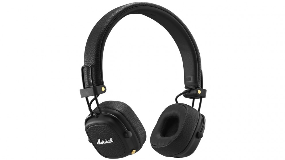 Marshall Major III Bluetooth On-Ear Headphones - Black
