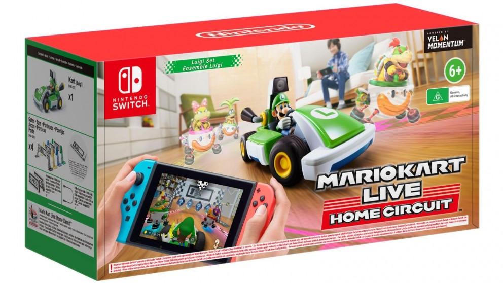 Mario Kart Live: Home Circuit Luigi Set - Nintendo Switch