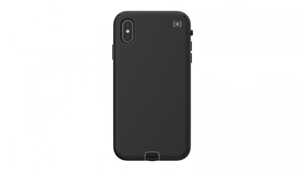 new arrival e6639 31827 Speck Presidio Sport Case for iPhone XS Max - Black/Gunmetal Grey