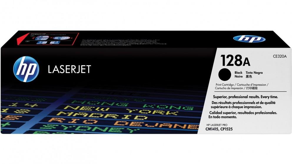 HP 128A Color LaserJet Printer Cartridge - Black