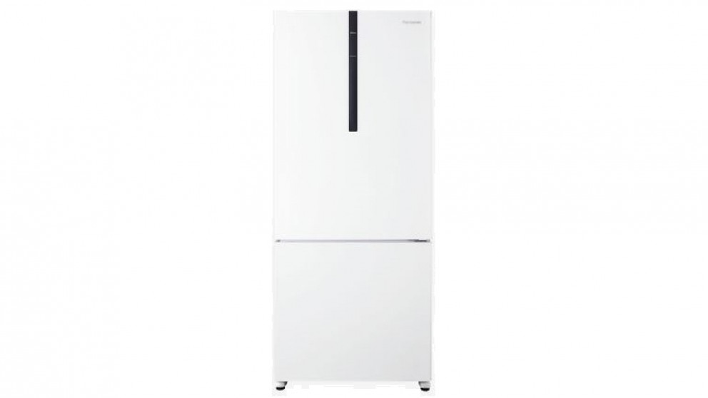 Panasonic 407L Bottom Mount Fridge - White
