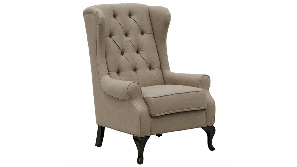 Buy Royale Wing Chair Harvey Norman Au