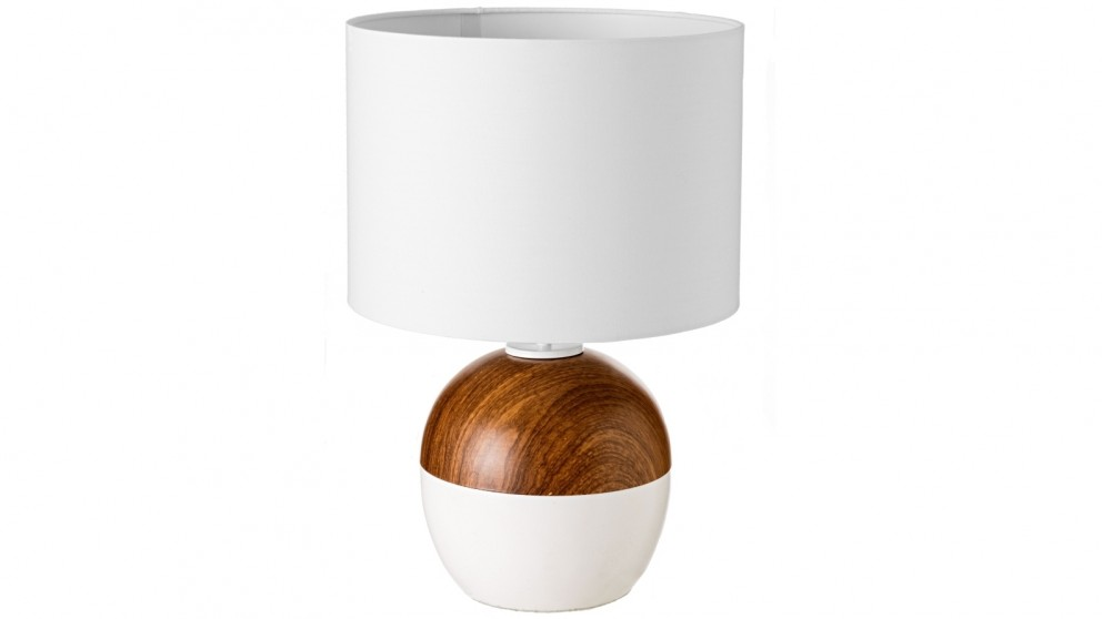 Braxton White Bedside Lamp
